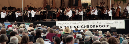 Oregon Symphony in the Park